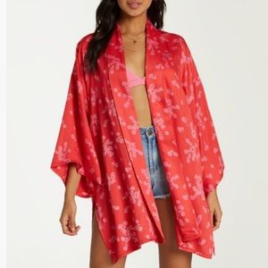 NWT women's Billabong Koala Kimono